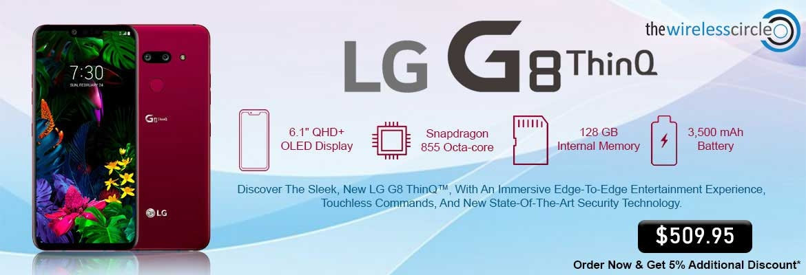 LG G8 128GB T-mobile Buy @ $509.95