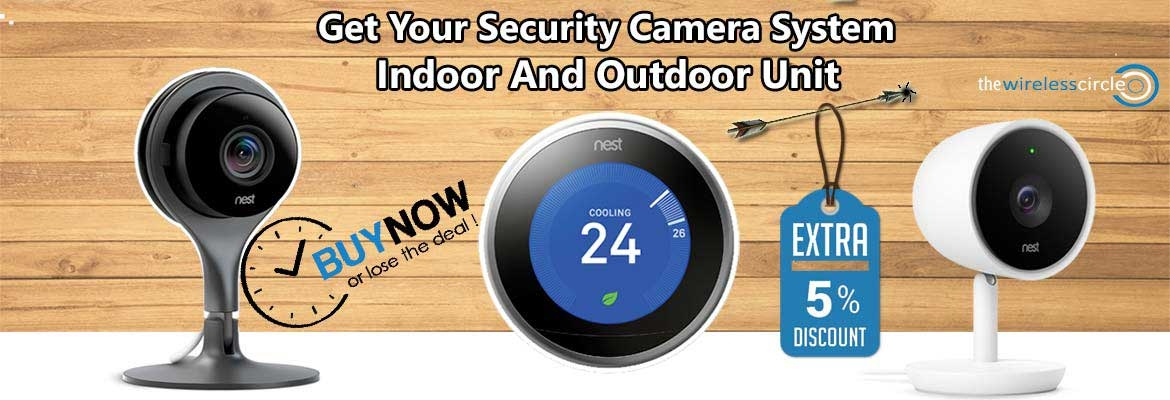 Smart Home Tech Camera's and thermostat and more Avail at discounted rate.